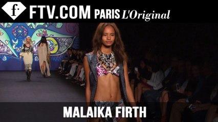 Malaika Firth: Model Talk | Spring/Summer 2015 | FashionTV