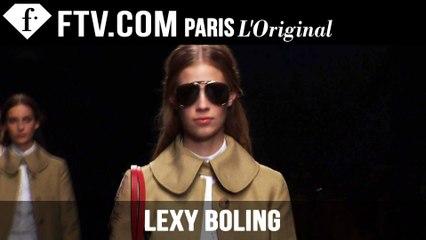 Lexy Boling: Model Talk | Spring/Summer 2015 | FashionTV