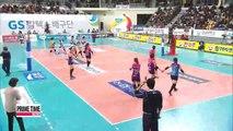 V-League: GS Caltex vs. Heungkuk Life, Woori Card vs. Korean Air