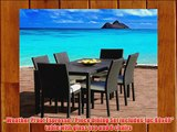 Outdoor Patio Wicker Furniture New All Weather Resin 7-Piece Dining Table