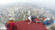 He felt down just before his basejump