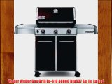 Weber Weber Gas Grill Ep-310 38000 Btu637 Sq. In. Lp Red