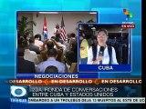 Celebran Cuba-EE.UU. segunda ronda para rehabilitar relaciones mutuas