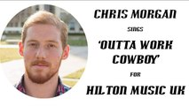 'OUTTA WORK COWBOY' Chris Morgan sings this traditional country style song about hard times!