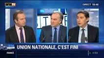 BFM Story: Nicolas Sarkozy ferme la parenthèse de l'unité nationale – 22/01