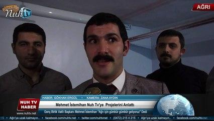 Mehmet İstemihan Nuh Tv'ye  Projelerini Anlattı