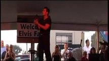 Franz Goovaerts sings A Little Less Conversation at Elvis Week 2007 video