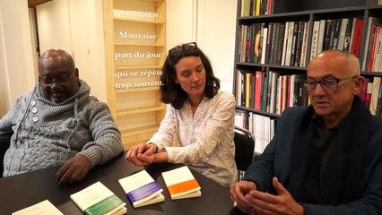 """Geneviève de Maupeou, Alain Sancerni et Lyonel Trouillot, à propos du """"Dictionnaire de la rature"""""""