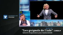 Zapping TV : la liberté d'expression de Nadine Morano moquée par les Guignols