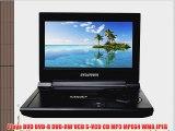 Sylvania SDVD9000B 9-Inch Portable DVD/CD/MP3 Player with USB/SD Card Reader Car Bag/Kit AC/DC