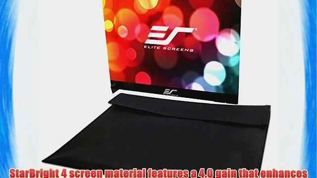 Elite Screens PS18WG4 Pico Sport Dual-Side Portable Tabletop Projection Screen (18-Inches Diag.