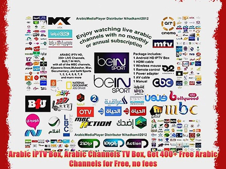 Arabic IPTV Box Arabic Channels TV Box Get 400 Free Arabic Channels for  Free no fees