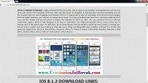 HowtoJailbreak ios 8.1.2 iPhone 6, iphone 6+, iPhone 4s, iPhone 5s, iPhone 5c & iPhone 5