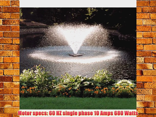 Scott Display Pond Aerator – The Power to Keep Your Pond Clean