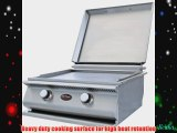 Cal Flame Built-in Natural Gas Hibachi Grill (ships As Propane With Conversion Fittings)