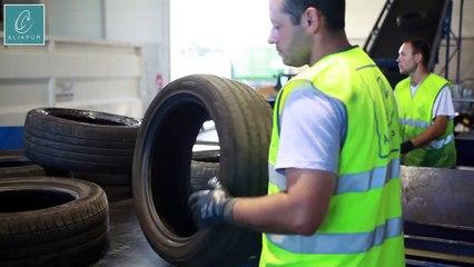 Le recyclage des pneus usagés, comment ça marche - par Aliapur | 1001Pneus