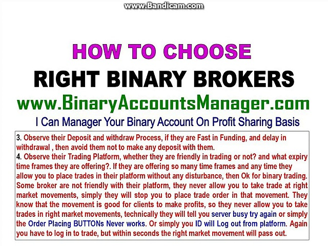 How To Find A Right Binary Options Trading Platform? Binary Options Trading Platform Secrets