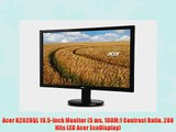 Acer K202HQL 19.5-Inch Monitor (5 ms 100M:1 Contrast Ratio 200 Nits LED Acer EcoDisplay)