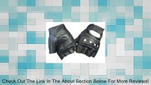 Black Leather Fingerless Motorcycle Biker Glove - Leatherbull (Free U.S. Shipping) Review