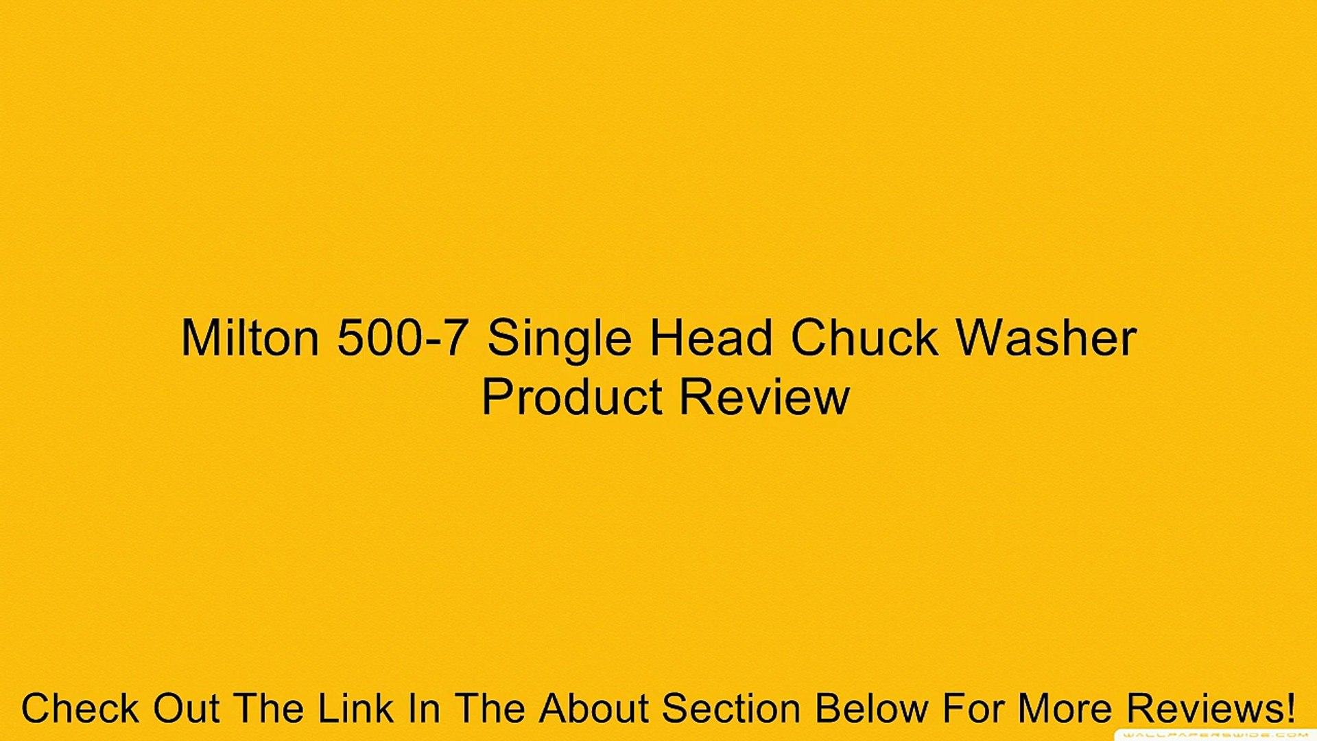 Milton 500-7 Single Head Air Chuck Washer Box of 10