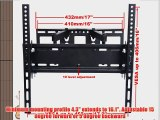 VideoSecu Swivel Articulating TV Wall Mount for Most 27 32 37 40 42 46 47 50 52 55 Plasma
