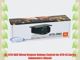 JBL GTO-RBC Wired Remote Volume Control for GTO-EZ Series Subwoofers (Black)