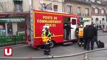 Violent incendie à Fère-en-Tardenois