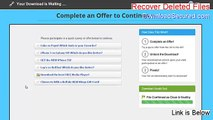 Recover Deleted Files Full - recover deleted files from recycle bin