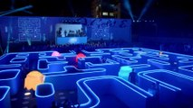 Life-size PacMan game in Bud Light Super Bowl ad