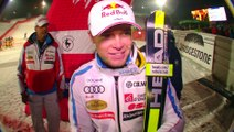 Réaction d'Alexis Pinturault vainqueur du Super Combiné de Kitzbuhel - Vidéo FFS/EUROSPORT