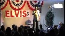 Franz Goovaerts sings A Little Less Conversation at Elvis Week 2012 video