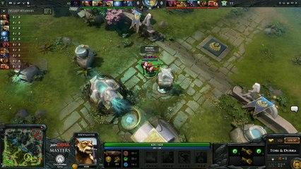 Team Tinker vs AS Game 3 - joinDOTA Masters @TobiWanDOTA @DurkaDOTA