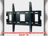 Sanus Classic MLL12-B1 Extra Large Low Profile TV Wall Mount for 32 to 63-Inch TVs