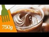 Recette la Pâte à tartiner au caramel et beurre salé - 750 Grammes