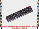 Panasonic Remote Control for TC-L42U30 TC-L32C3 TC-32LX34 TC-60PS34 TC-P60S30UA
