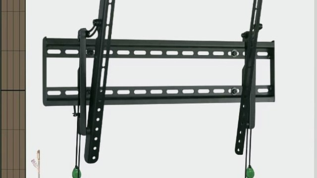Space Saver Fixed/Tilt Flat Screen TV Wall Mount Bracket for 26-Inch to 65-Inch Screens