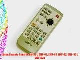 Epson Remote Control: EMP-61 EMP-62 EMP-81 EMP-82 EMP-821 EMP-828
