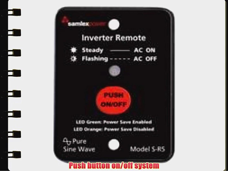 COTEK CR6-12 REMOTE CONTROL FOR 12 VOLT ST AND SK INVERTERS