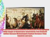 Digital Hi-Definition USB TV Art - Renaissance Masterworks: Paintings by Botticelli DaVinci
