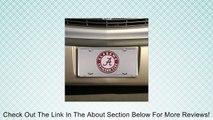 Alabama Crimson Tide Silver Super Stock Metal License Plate Review