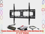 Premier Mounts AVKLF3752 Fixed Low-Profile Wall Mount Kit for 37 to 52 Displays