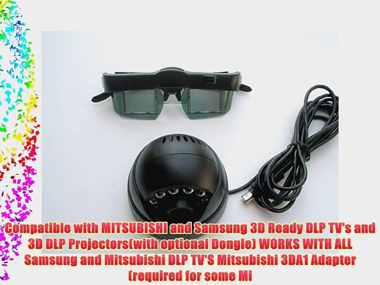 3DTV Kit for DLP TV or Projector or PC--EMITTER 1 GLASSES