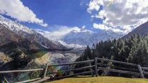 Time-lapse-Hunza Valley and Fairy Meadows Hunza District Gilgit Baltistan Pakistan
