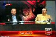 ARY Sawal Yeh Hai Dr Danish with MQM Babar Ghauri & Ghazi SalahUddin (23 jan 2015)