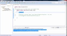 Java Exception Handling Tutorial Part 1 - What is Exception Handling in Java?