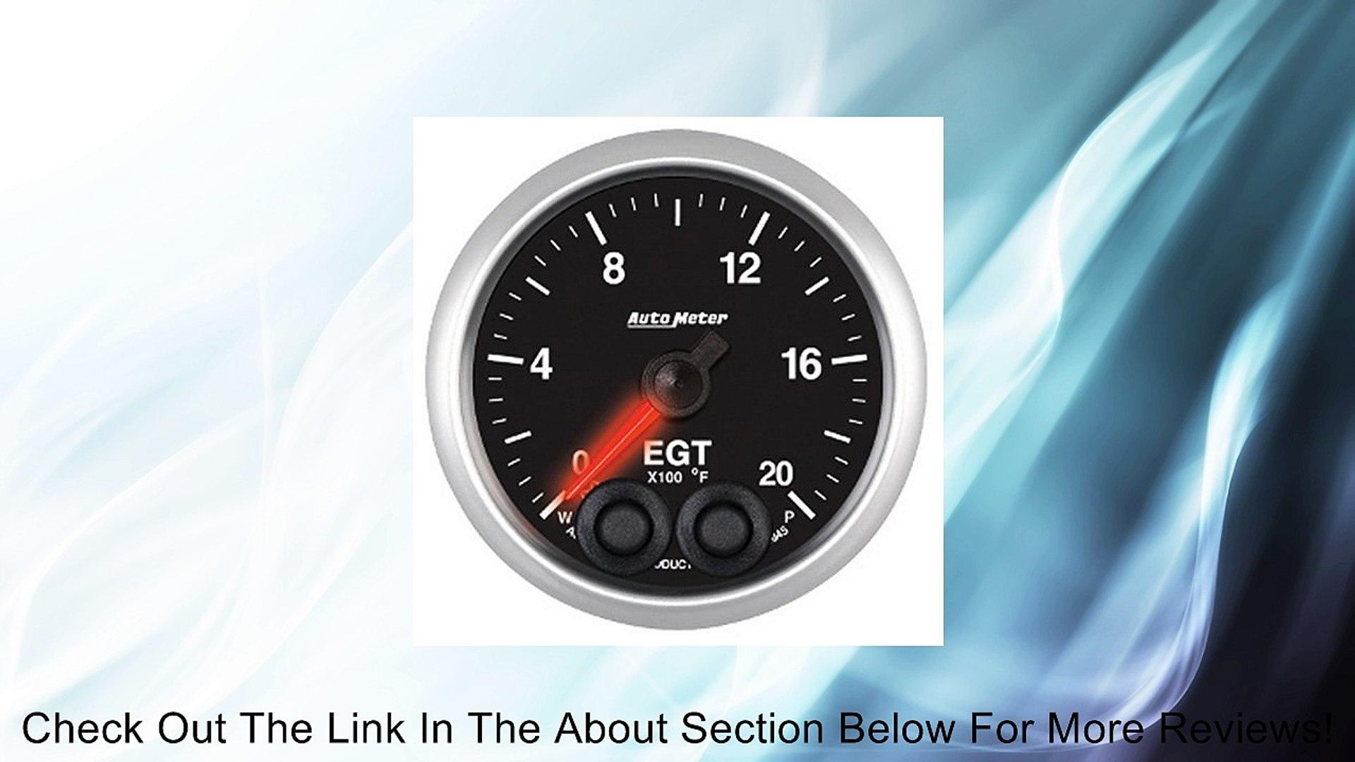 Auto Meter 5670 Elite Series Boost Gauge