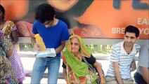 A Short Story of Kindness in 2 min- Young Man Gives Old Lady Seat on Bus, in New Delhi