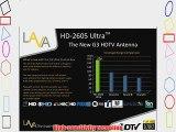 LAVA HD-2605 ULTRA HDTV DIGITAL ROTOR AMPLIFIED OUTDOOR TV ANTENNA HD UHF VHF FM