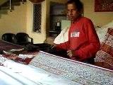 Jaipur artisan imprimeur sur tissus