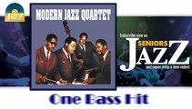 Modern Jazz Quartet - One Bass Hit (HD) Officiel Seniors Jazz